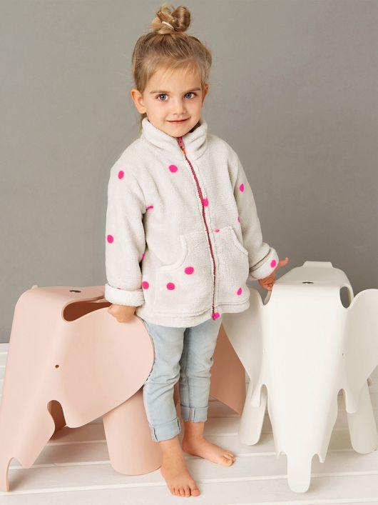 Куртка флісова з кишенями-кенгуру