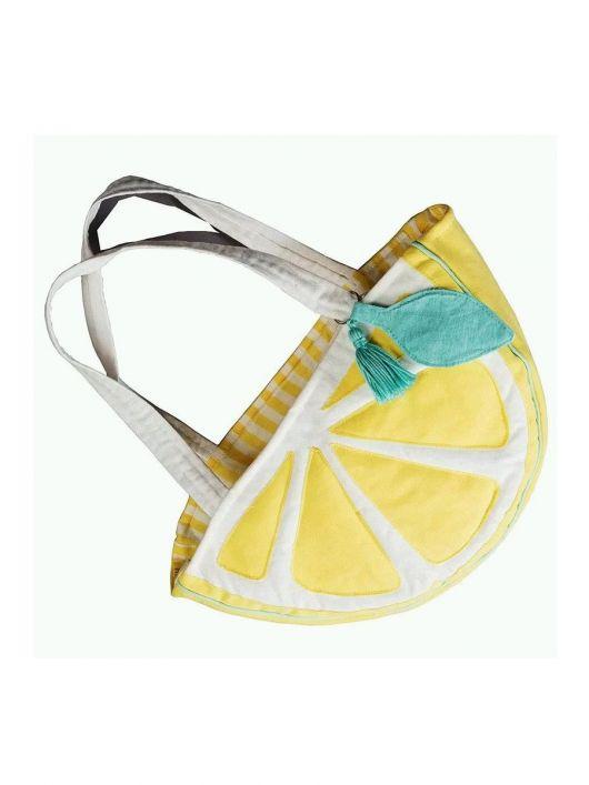 "Сумка ""Лимонна долька"""