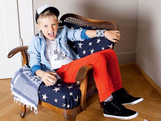 Брюки в джинсовому стилі для хлопчика