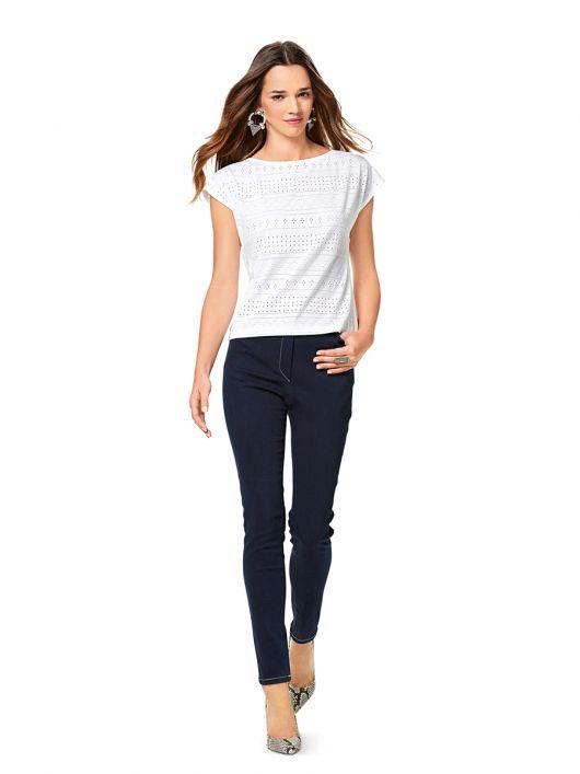 Брюки-джинси вузького крою