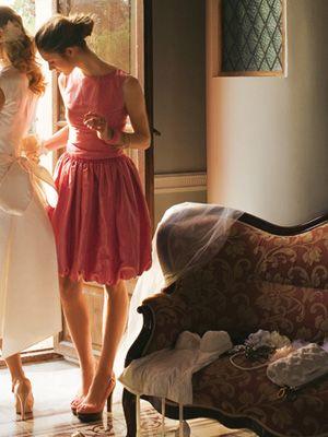Сукня коктейльна зі спідницею-балон