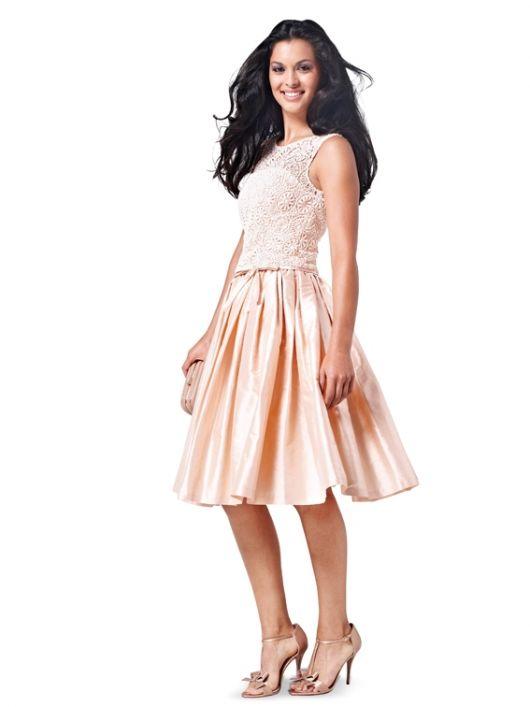 Сукня-бюстьє коктейльна з пишною спідницею