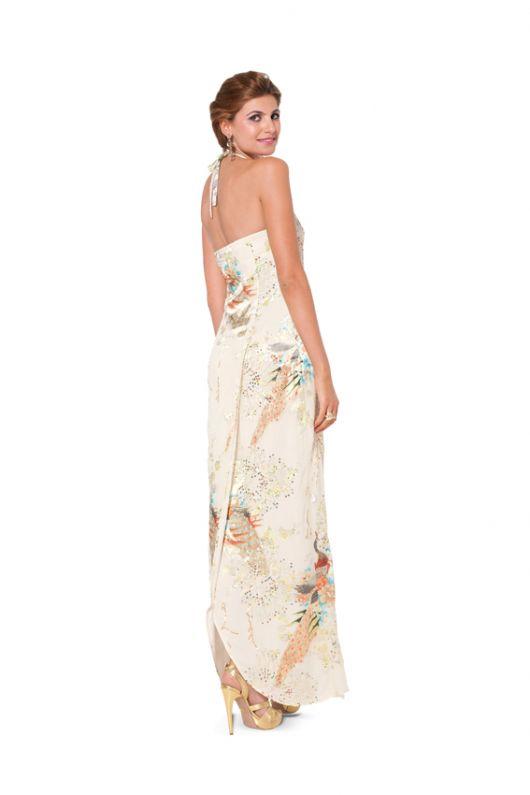 Сукня максі вечірня з відкритою спиною