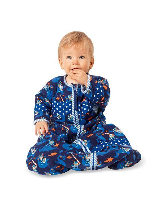 Спальний мішок з рукавами для малюка