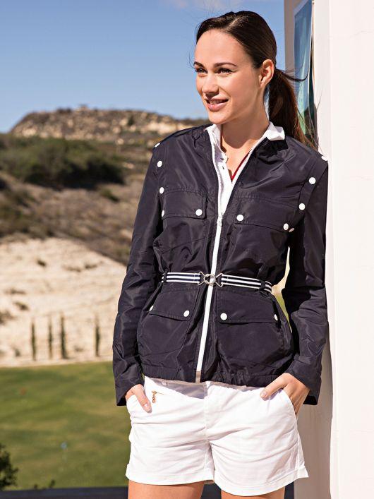 Куртка-трансформер з відстібними рукавами
