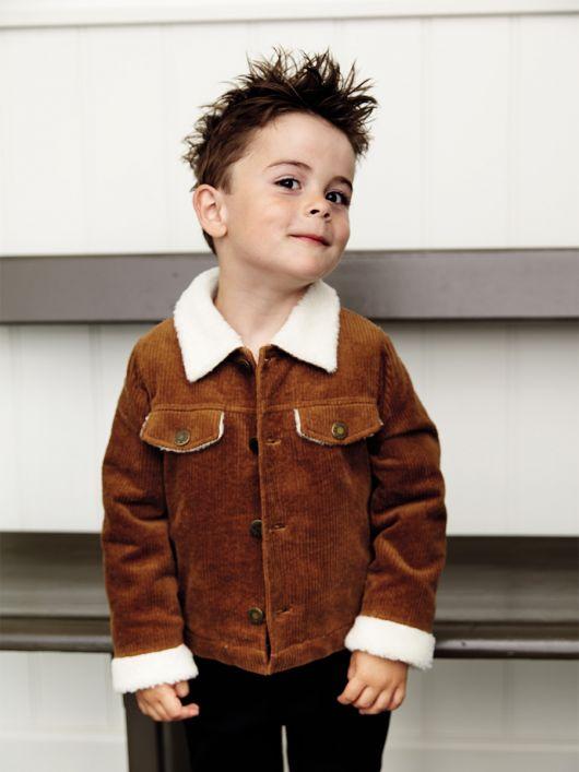 Куртка вельветовая на меховой подкладке