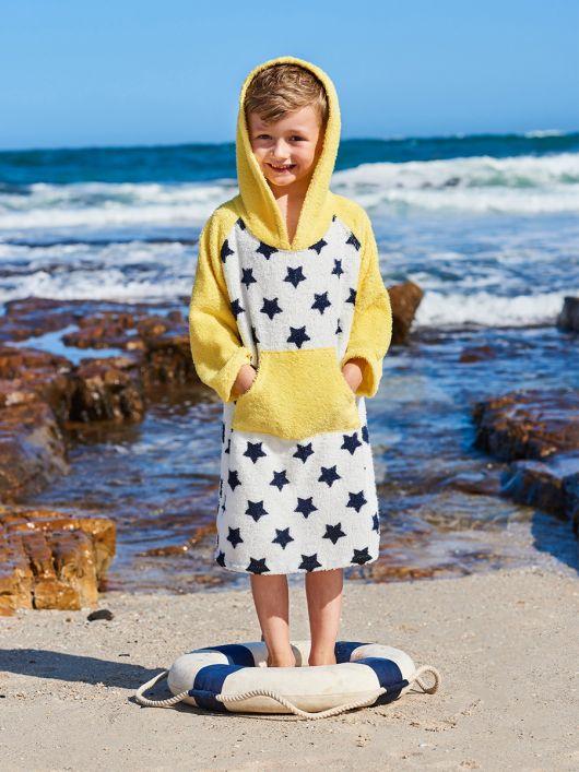 Анорак пляжный из махровой ткани
