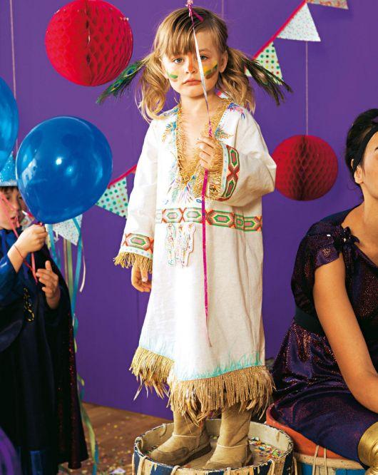 Карнавальний костюм «Індіанка»
