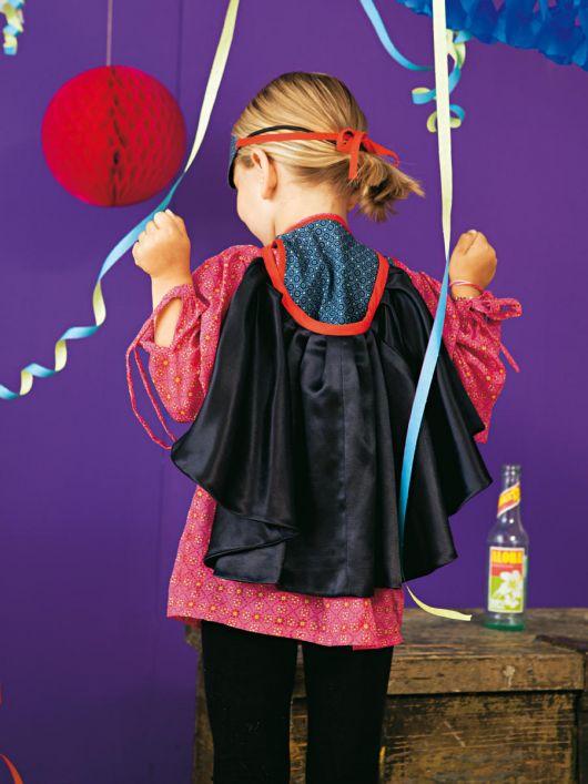 Накидка для карнавального костюма «Зорро»