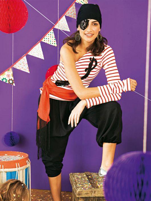 Карнавальний костюм «Подруга пірата»