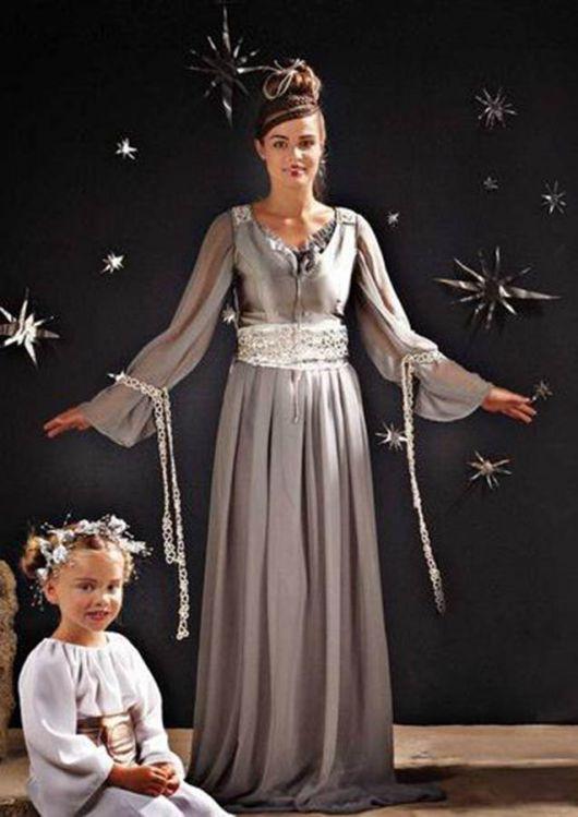 """Костюм """"Космічна королева"""" - сукня, пояс"""