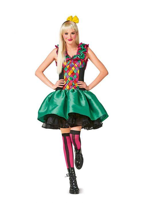Карнавальний костюм «Арлекін»