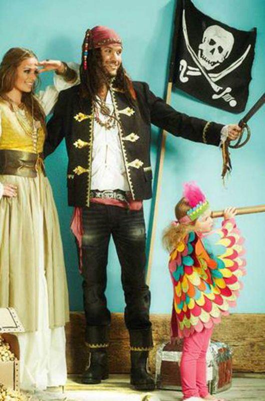 "Костюм ""Пірат"" - куртка, хустка, шарф"