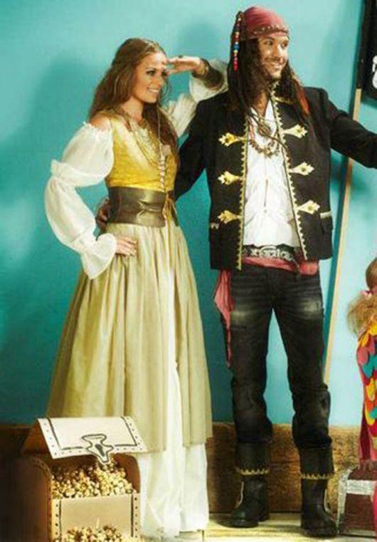 """Костюм """"Піратка"""" - сукня, спідниця, пояс"""