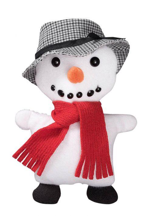 М'яка іграшка «Сніговик»