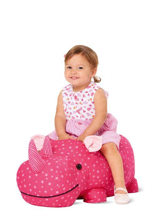 М'яка іграшка - носоріг