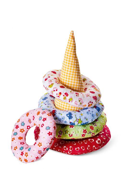 М'яка іграшка – текстильна піраміда
