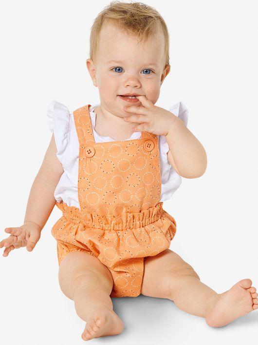 Напівкомбінезон короткий для малюків