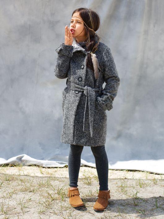 Пальто асиметричного крою