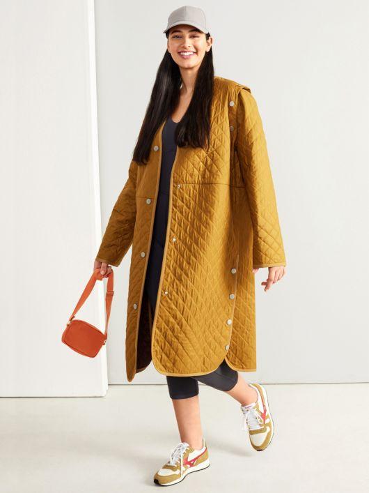 Пальто з відстібними рукавами