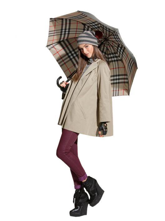 Пальто-свингер в стилі 50-х