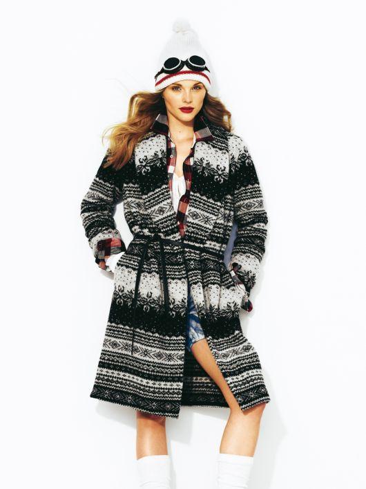 Пальто у норвезькому стилі