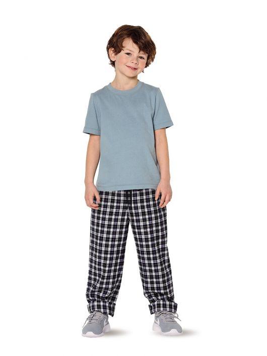 Піжама трикотажна з брюками