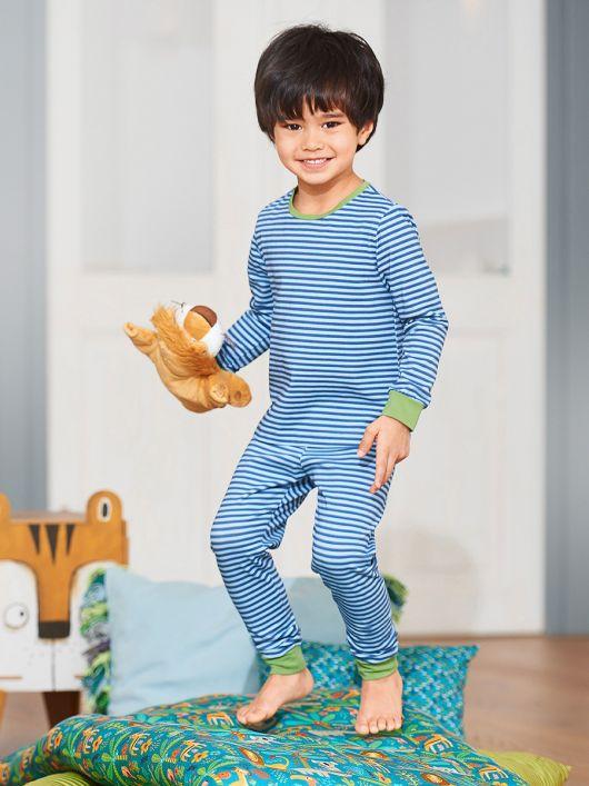 Піжамні брюки на еластичному поясі