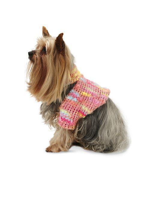 Попона з в'язаного полотна для собаки