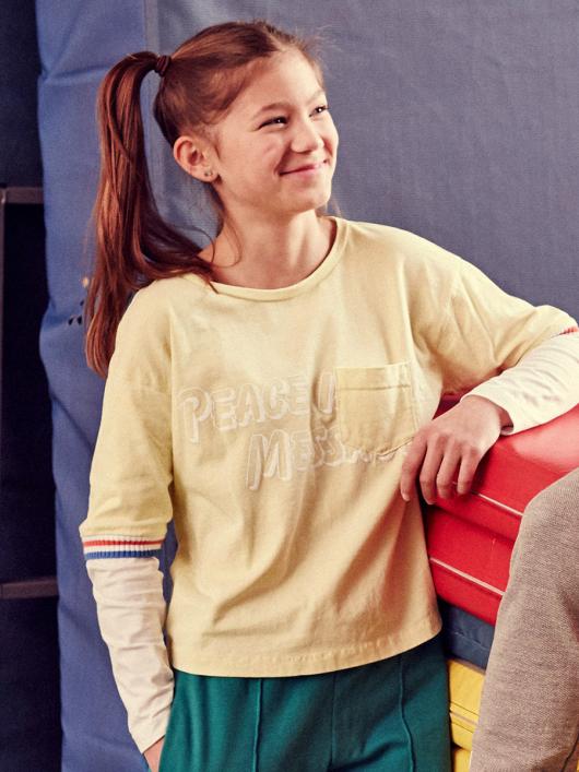 Пуловер прямого крою з круглою горловиною