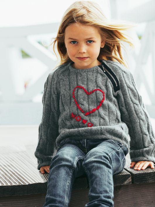 Пуловер із в'язаного полотна з рукавами реглан