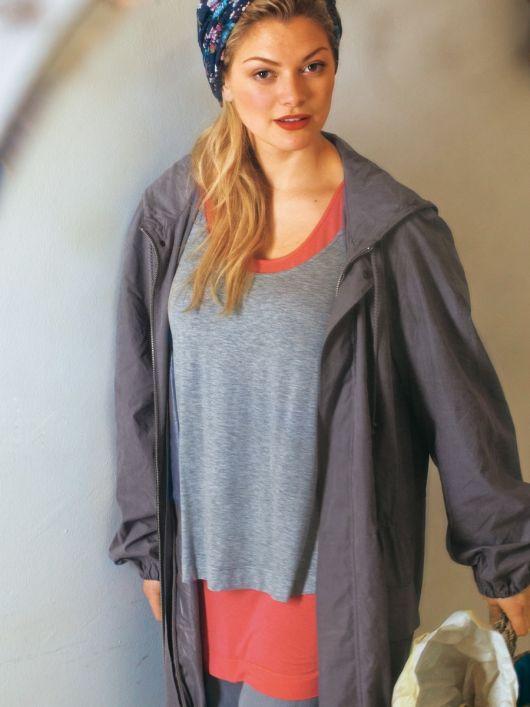 Пуловер подвійний з довгими рукавами