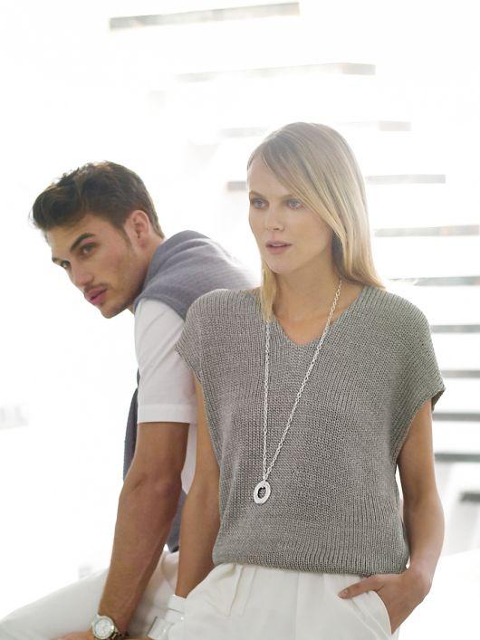 Пуловер з сприспущеною лінією плечей