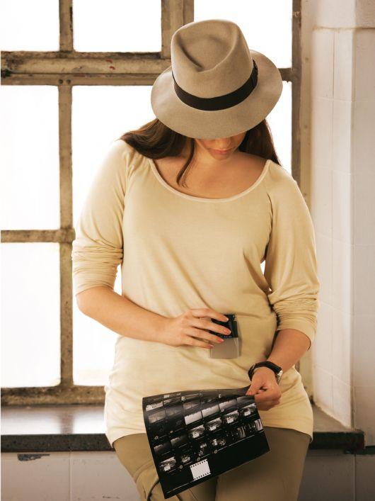 Пуловер реглан із круглим вирізом горловини