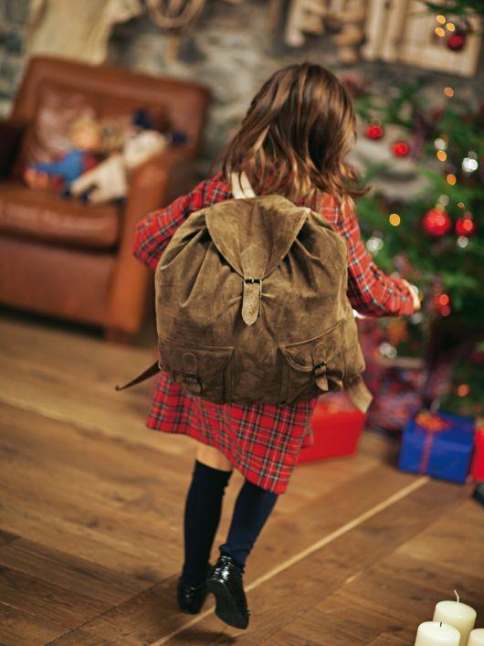 Рюкзак з двома кишенями-портфелями