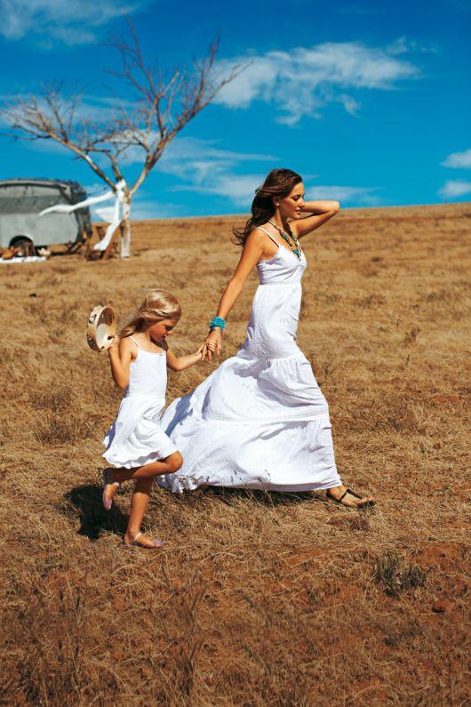 Сукня-сарафан в стилі хіпі