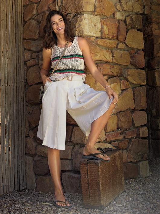 Спідниця-шорти зі знімним ременем