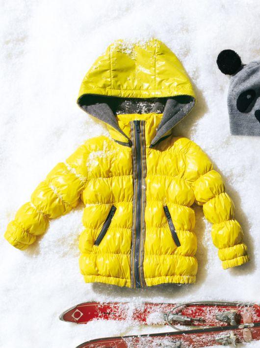 Куртка стьобана зі знімним капюшоном