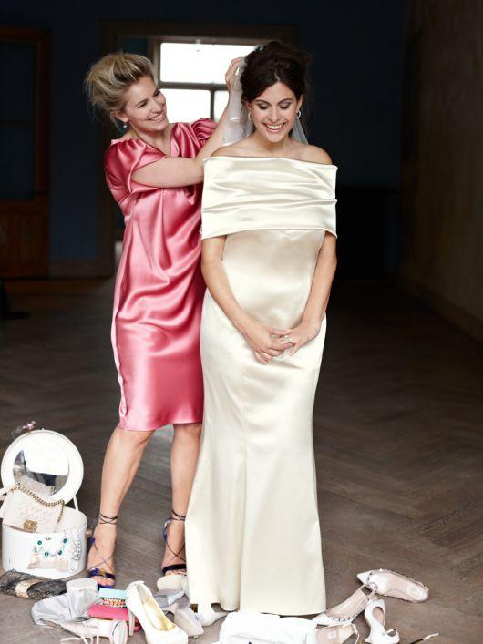 Сукня-бюстьє зі спідницею годе