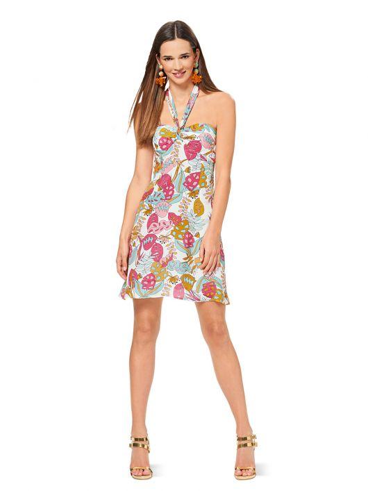Сукня міні з широкою бретеллю-петлею