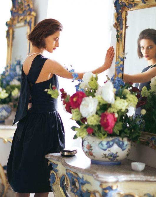 Сукня-футляр зі спідницею-тюльпан