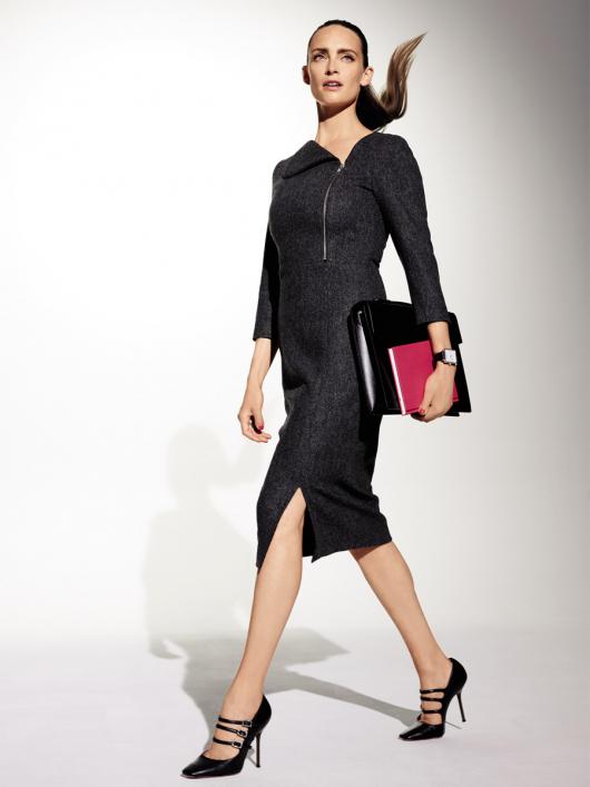 Викрійка Сукня-футляр з рукавами 3 4  купити викрійки b9853f8b5b29e