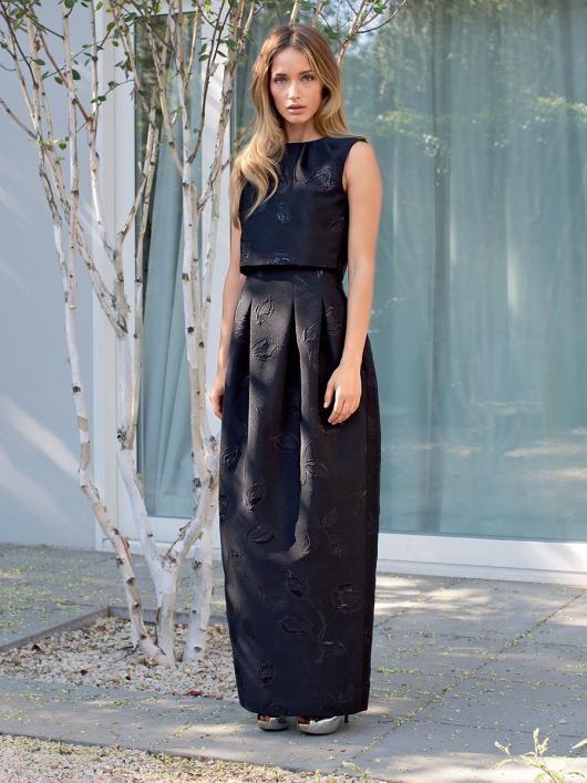 Сукня-футляр з подвійним ліфом