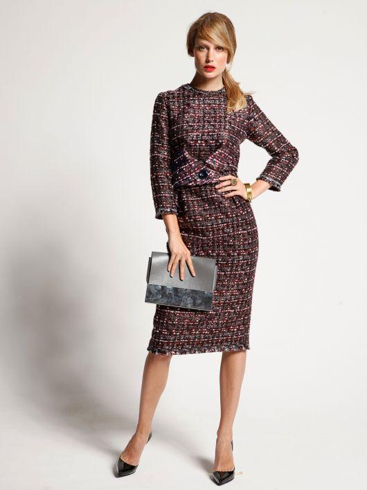 Вінтажна сукня-футляр