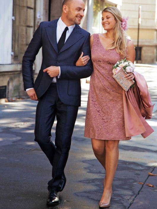 Сукня-футляр мереживна для нареченої