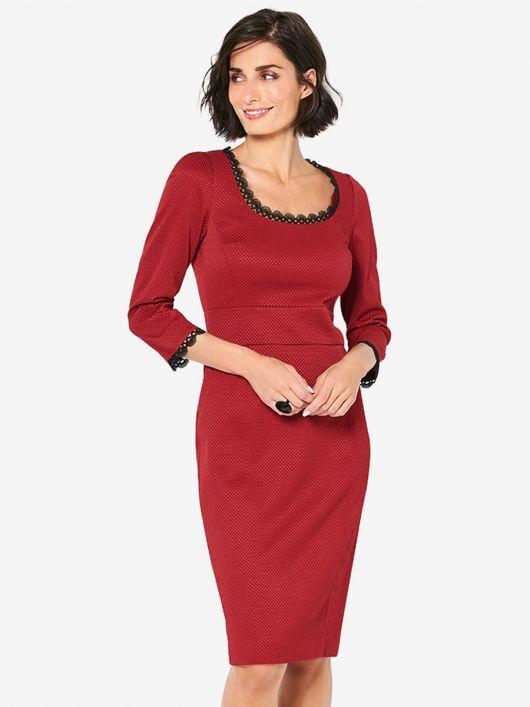 Сукня-футляр із широким вшивним поясом