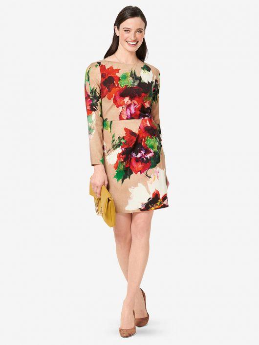 Сукня-футляр відрізна трикотажна