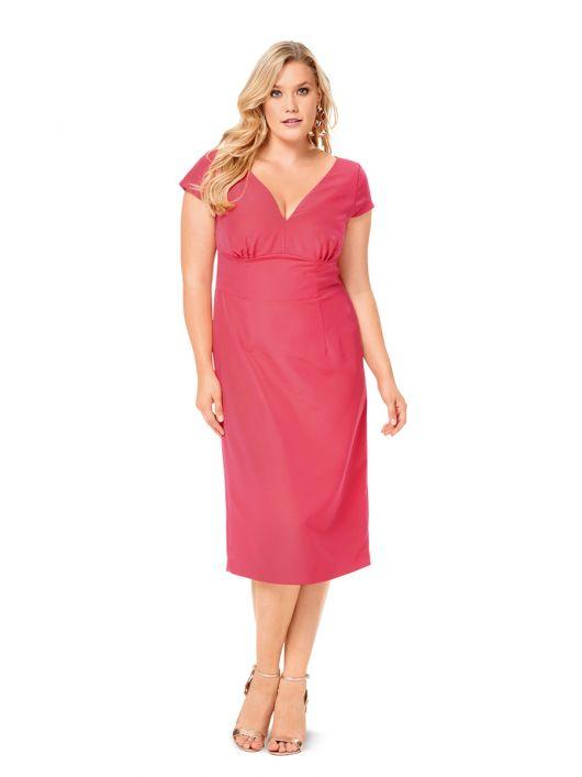 Сукня-футляр з широким вшивним поясом
