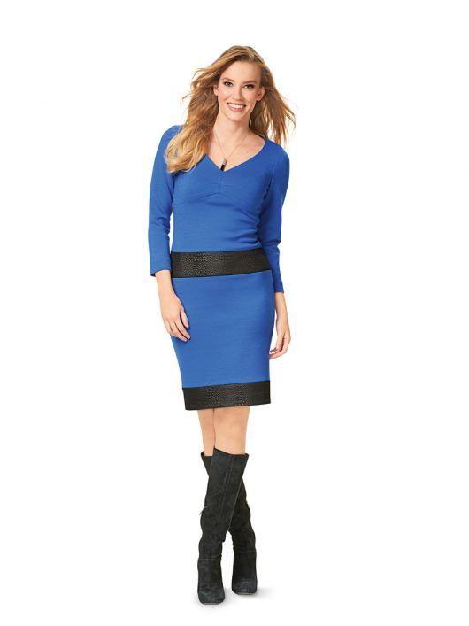Сукня трикотажна з вирізом «сердечко»