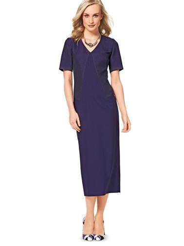 Сукня-футляр з геометричними лініями крою